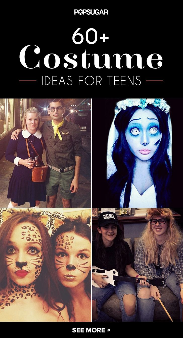 Take a look and let these costume ideas convince you that you're not too old to dress up.