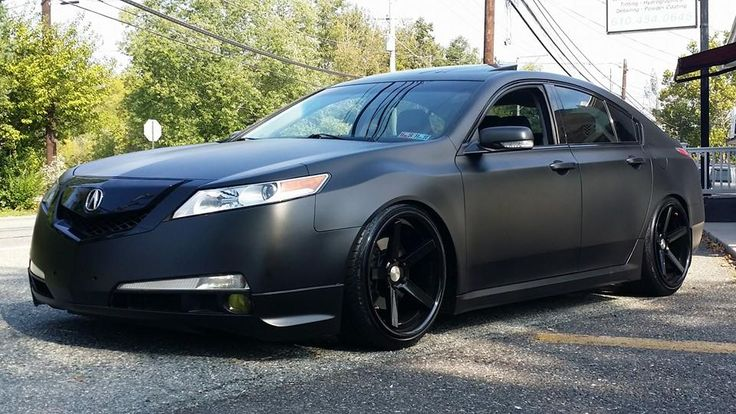 Project Black Out Halo Efx Cover Black Dip On An Acura