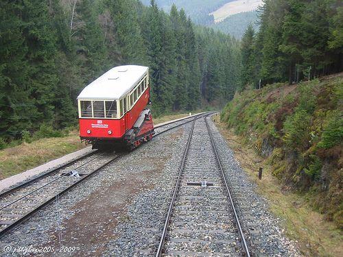 Die Oberweißbacher Bergbahn im Thüringer Wald / mountain railway