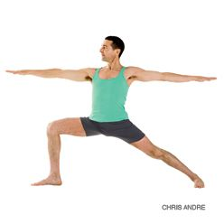 Warrior II Pose can increase your leg strength and also generate courage and self-confidence