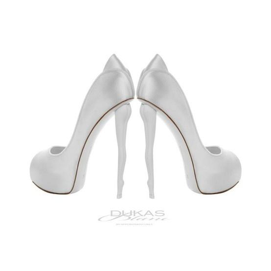 DUKAS BLANC  wedding shoes by wendi#