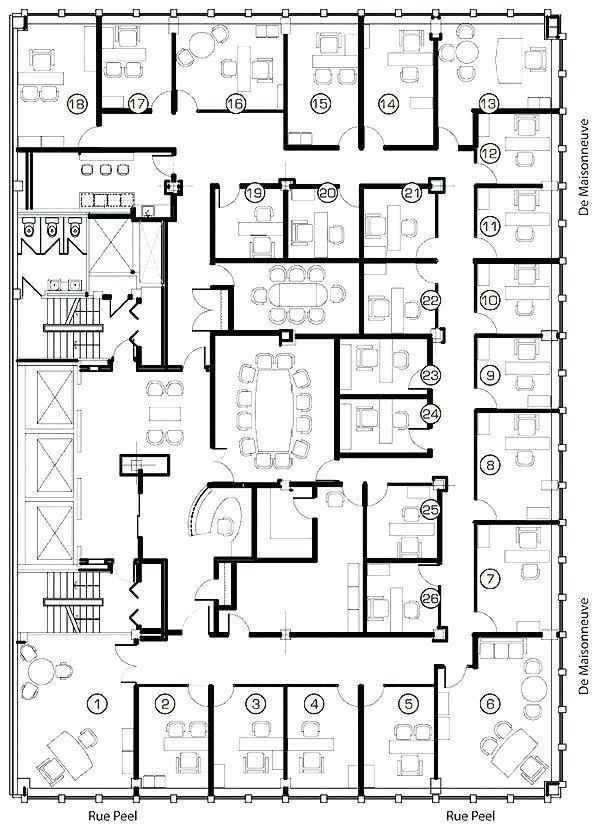 Office Floor Plan Design Design Floor Homeofficedesignlayoutfloorplans Office Pla Plano De Planta De Hotel Diseno De Oficina Comercial Planos De Oficina