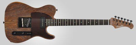 トラディショナルなTLシェイプをモチーフとして、コンター加工を施し演奏性を向上した2シングルシングルカットエレキギター。フロントにP-90タイプピックアップを搭載。十分なパワー感あるサウンドが魅力。