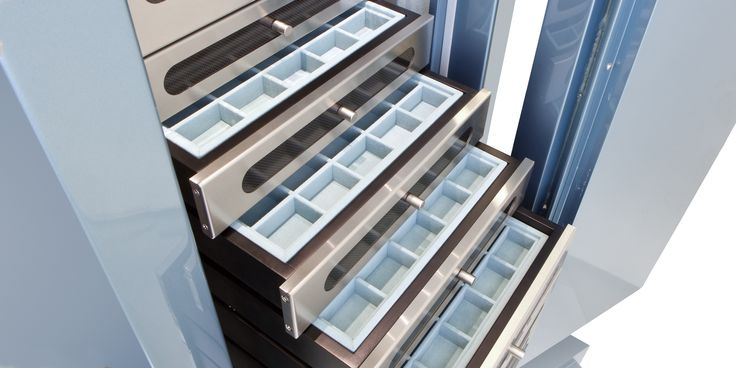Custom Jewelry Drawer Inserts  Handmade For Your Collection  As the top manufacturer of high-security luxury safes we've honed our skills crafting the finest interiors worthy of our clients' priceless jewelry collections. From completely custom necklace forms to compartments designed to fit bespoke accessories, we have