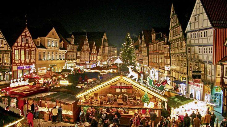 Weihnachtsmarkt in Celle mit Lüneburg #christmas #weihnachten #travel