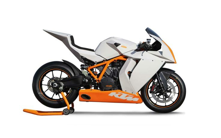 KTM has present new 1190 RC8 model with new R package. This sport bike with 73 cubi inches and 173 horsepower. This motorcycle is available for white-orange and black-orange variants.      Specifications    Manufacturer  KTM   Model �