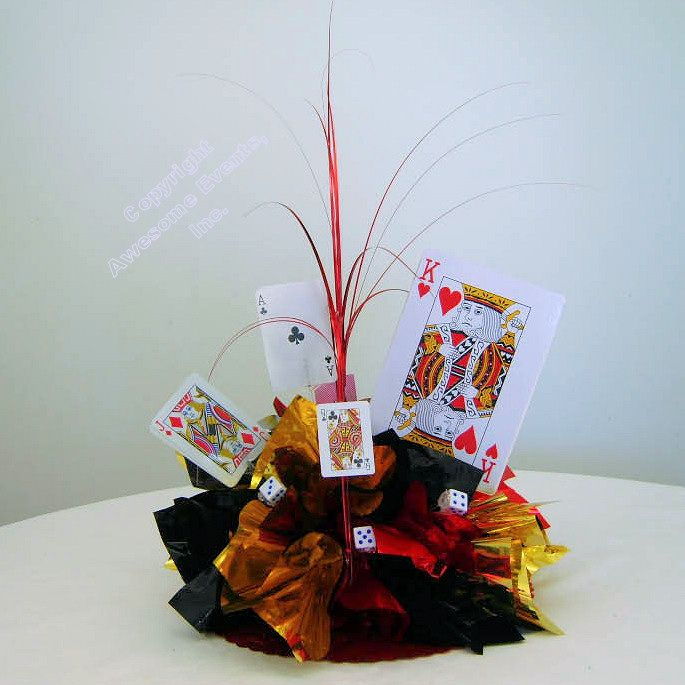 Best images about casino theme party centerpieces