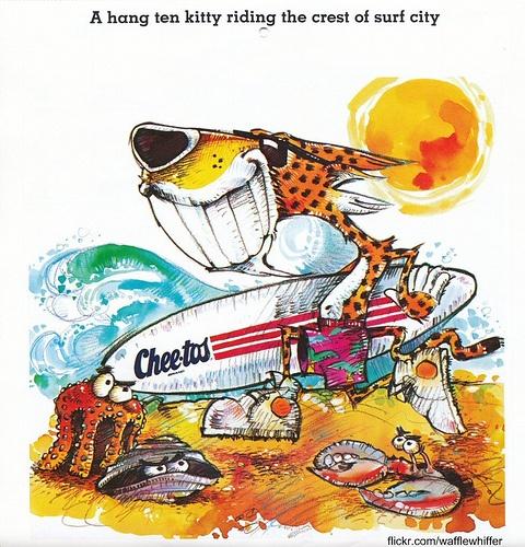 Chester Cheetah - June 1987 #Cheetos #ChesterCheetah