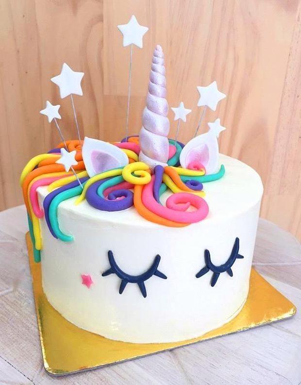 60 Simple Unicorn Cake Design Ideas Unicorn Birthday Cake Easy