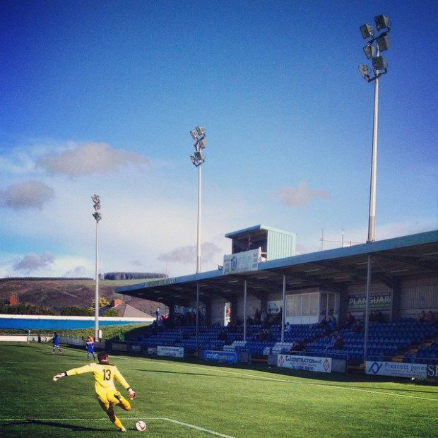 A sunny day on the South Wales coast as Port Talbot Town defeat Bangor City