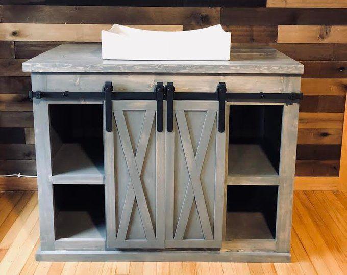 38+ Barn door double vanity custom