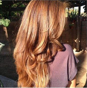 Caramel Base With Honey Blonde Highlights Hair Amp Beauty