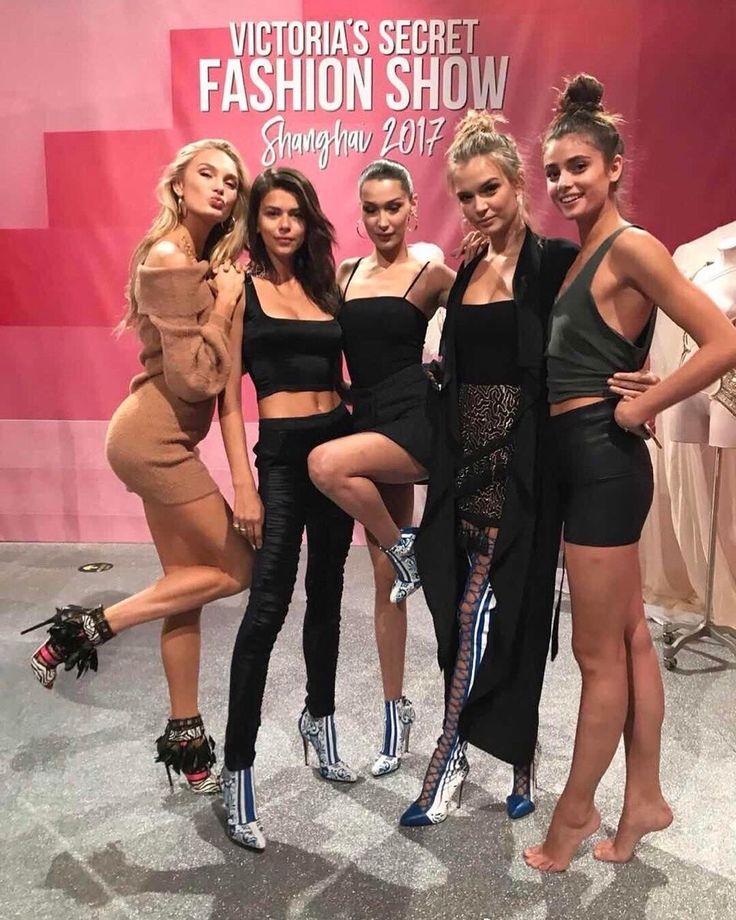 Bella Hadid at the Victoria's Secret Fashion Show 2017