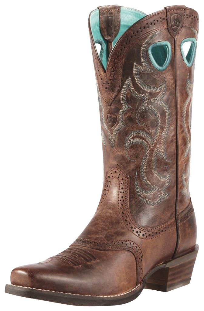 Womens Ariat Women's Rawhide Square Toe Western Boot On Sale Online Size 39