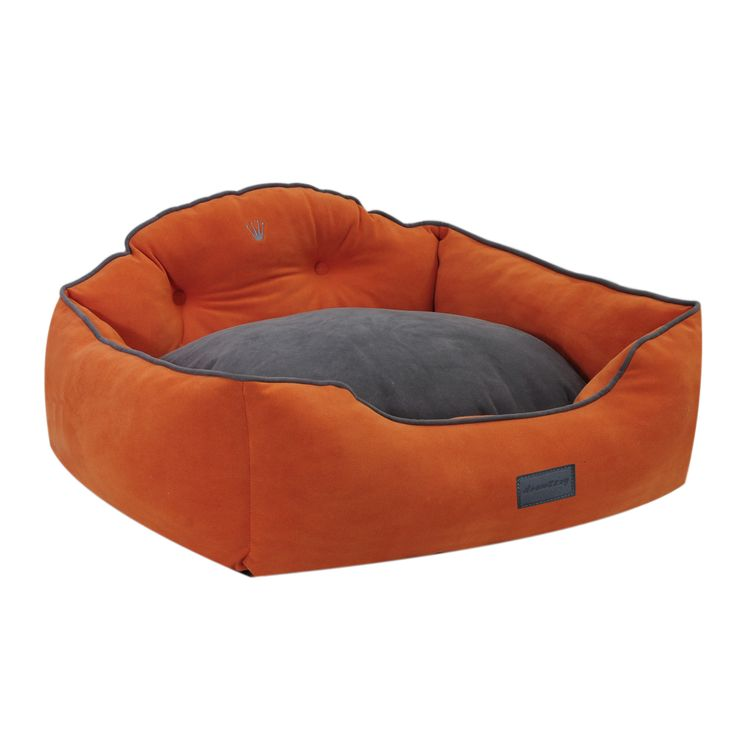 Courtier Royal Couch Bed in Tangerine - drowzzzy by ez living home
