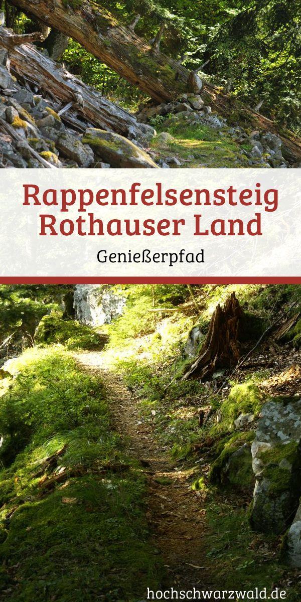 Durch tiefsten Schwarzwälder Urwald, hier darf der Wald noch Wald sein. Bei einer Wanderung auf dem Rappenfelsensteig lernt man einen Bannwald kennen, einer der wenigen in Deutschland.