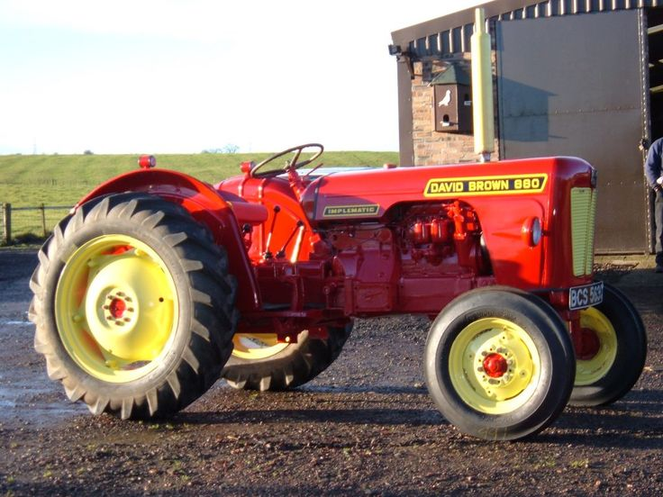 David Brown Tractor in Field
