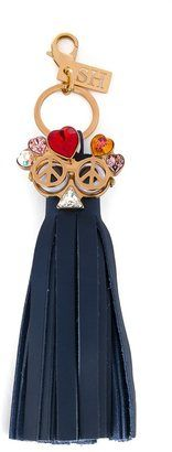 Shop Now - >  https://api.shopstyle.com/action/apiVisitRetailer?id=537307301&pid=uid6996-25233114-59 Sophie Hulme 'Jimi' tassel keyring  ...