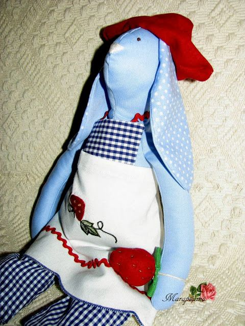 An admirer of strawberries