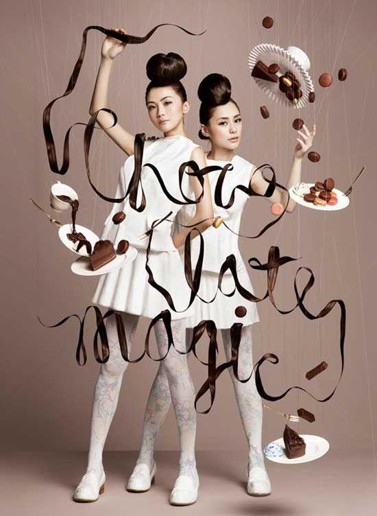 La magia del chocolate sin Photoshop