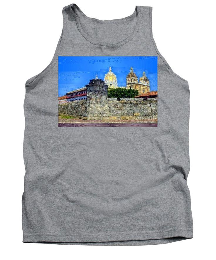 Tank Top - La Popa Hill Convent And Saint Philip Castle, Cartagena De Indi