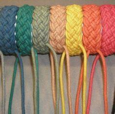 How to make a Turks-Head knot bracelet