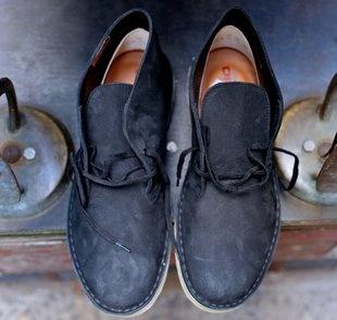 Clarks Desert Matte Black Boot