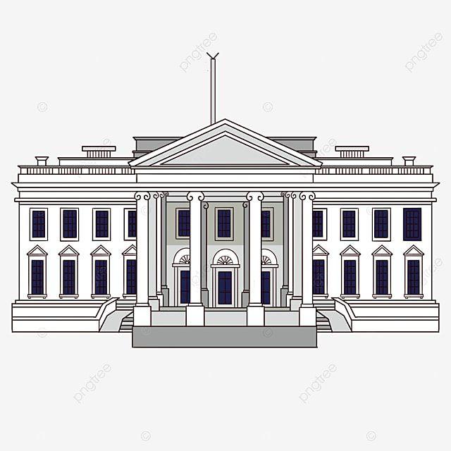 Gambar Garis Gambar Tangan Bangunan Gedung Putih Rumah Putih Clipart Rumah Putih Clipart Hitam Dan Putih Lukisan Tangan Png Transparan Clipart Dan File Psd U Membangun Rumah Gedung Bangunan