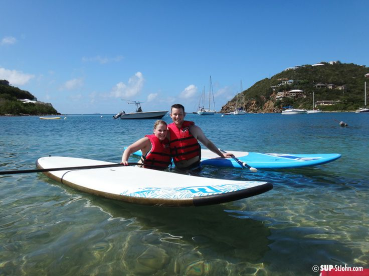 Fanatic Allround SUP for rent on St. John US Virgin Islands