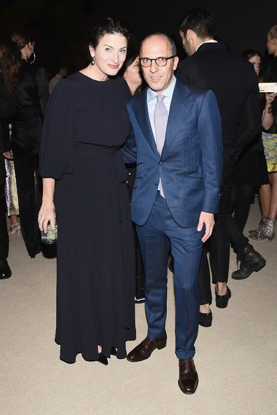 Marina Rust (L) and Ivan Shaw attend 13th Annual CFDA/Vogue Fashion Fund Awards at Spring Studios on November 7, 2016 in New York City.