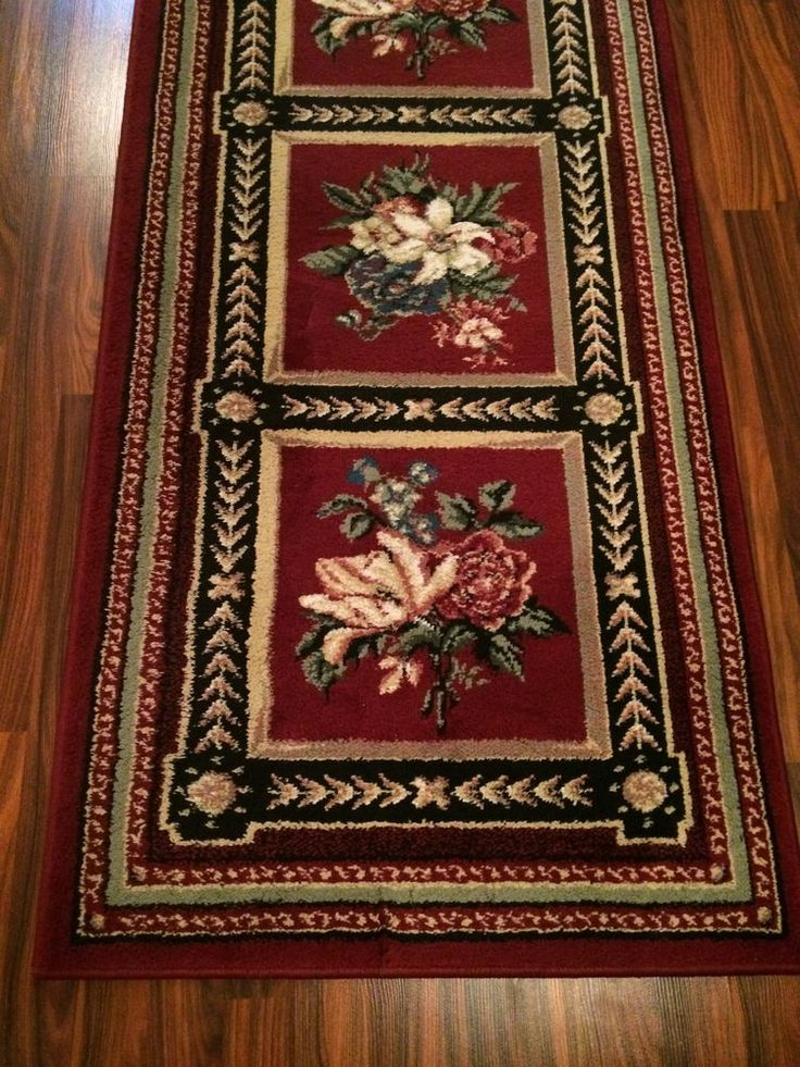 "Shaw Rugs Opulance Collection 2' 3"" x 7' 8"" Area Rugs Runner Floral  #Shaw #FrenchCountry"