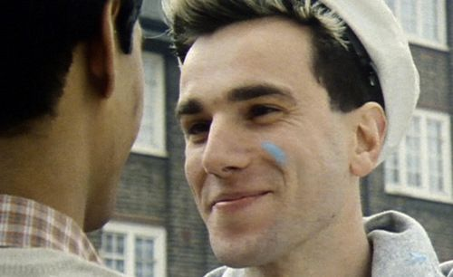 Daniel Day Lewis in My Beautiful Launderette. Super crush.