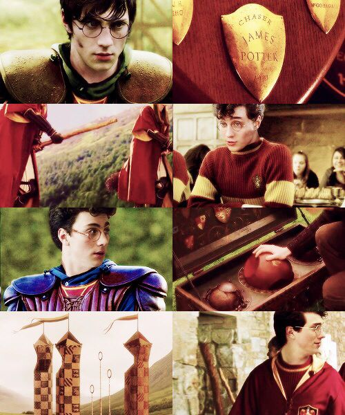 Harry Potter 30 Day Challenge: Day 13, Which Quidditch Position Would You Be? CHASER, like James Potter!