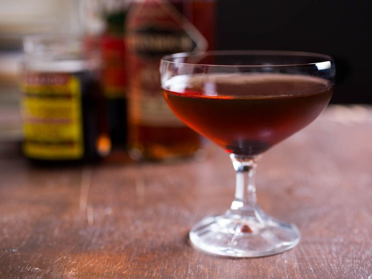Man About Town      2 ounces rye, such as Rittenhouse     1 ounce Cynar     1 ounce sweet vermouth     Brandied cherry #BrandyAndWhiskeyLovers