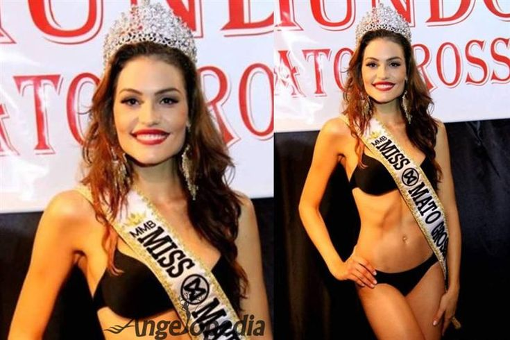 Jessica Duarte crowned Miss Mato Grosso World 2016