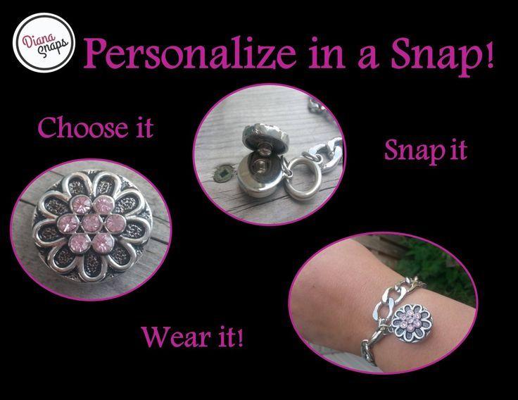 Choose it! Snap it! Wear it! Visit: http://www.dianasnaps.com/partner/LauraG