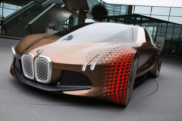 BMW Vision Next 100 Study On The 100th Birthday Why Future Has