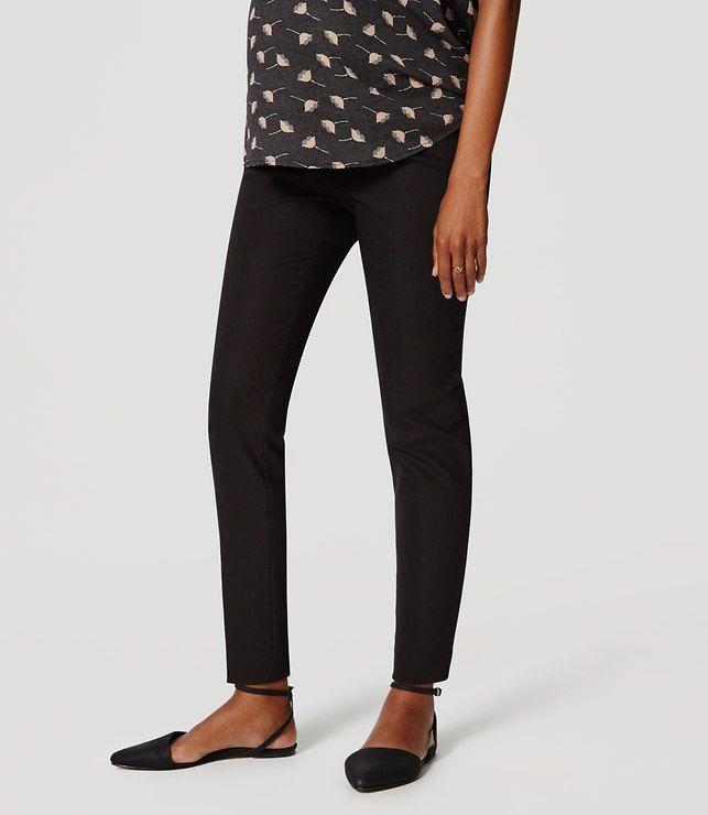 LOFT Maternity Essential Skinny Ankle Pants