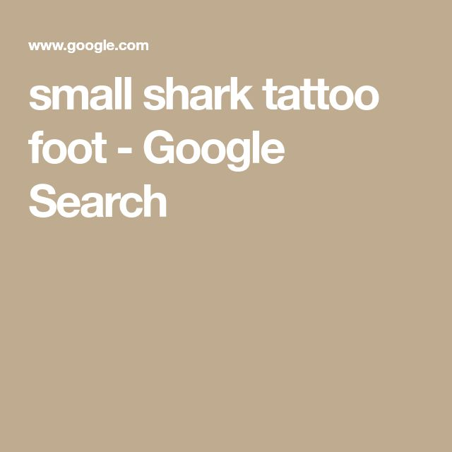 small shark tattoo foot - Google Search