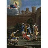 'Antonio Carracci The Martyrdom Of Saint Stephen ' Oil Painting, 8 X 11 Inch / 20 X 28 Cm ,printed On Perfect Effect Canvas ,this Reproductions Art Decorative Canvas Prints Is Perfectly Suitalbe For B