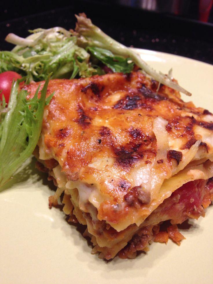 Classic lasagna - recipe by Gordon Ramsay