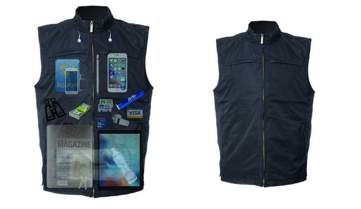 Vest With Concealed Pockets