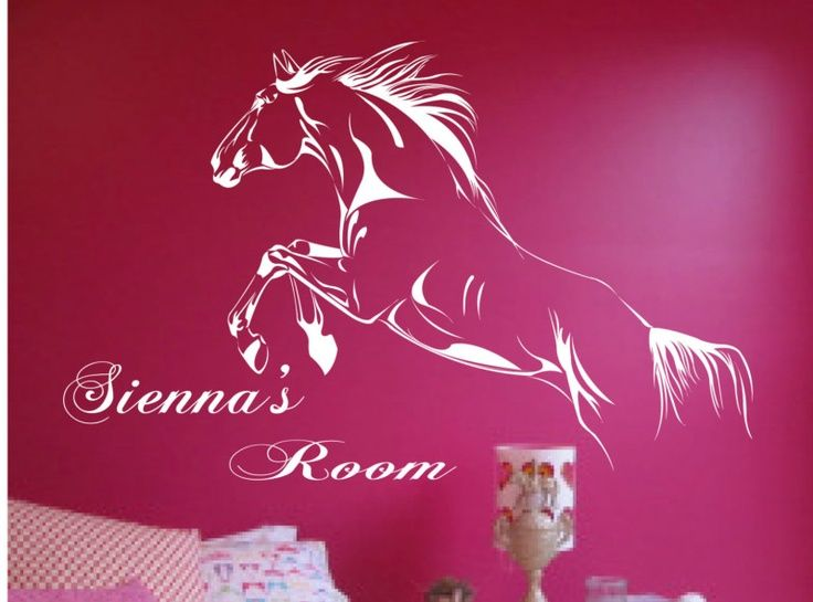 horse decorations for girls room