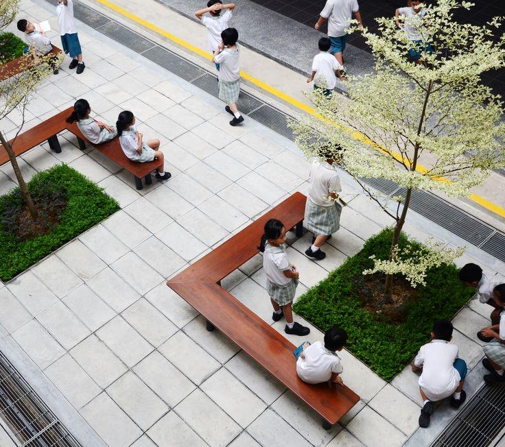 Elementary School Landscape Garden - atelier small