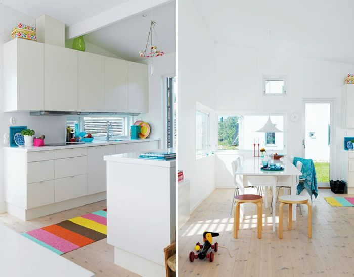 White And Wood Kitchen Pinterest