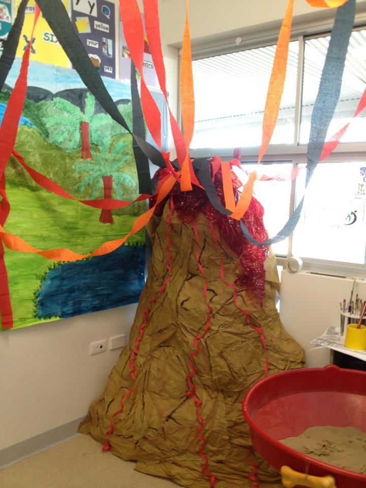 More of our volcano