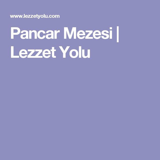 Pancar Mezesi | Lezzet Yolu