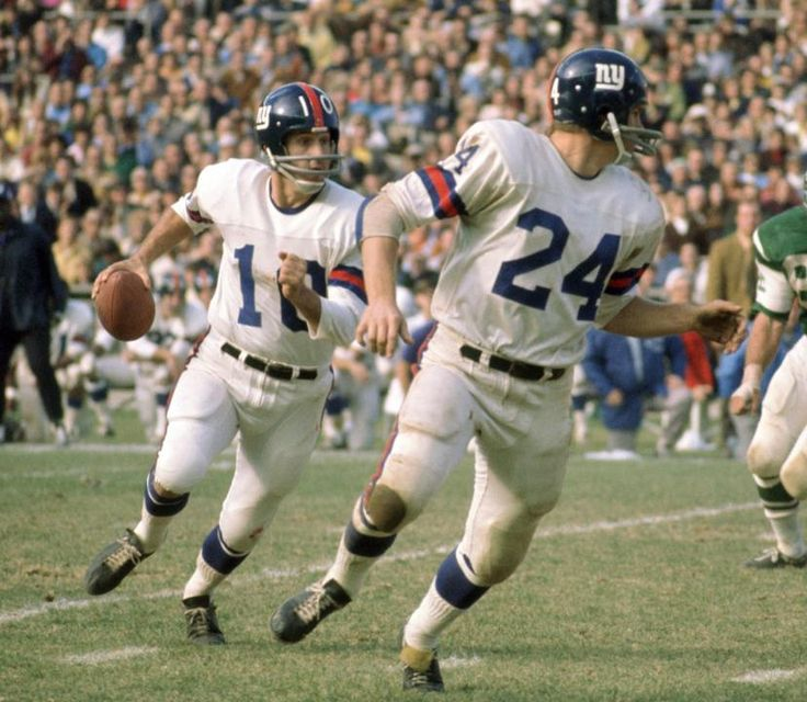 Old Time Photo Thread Fran Tarkenton with the Giants
