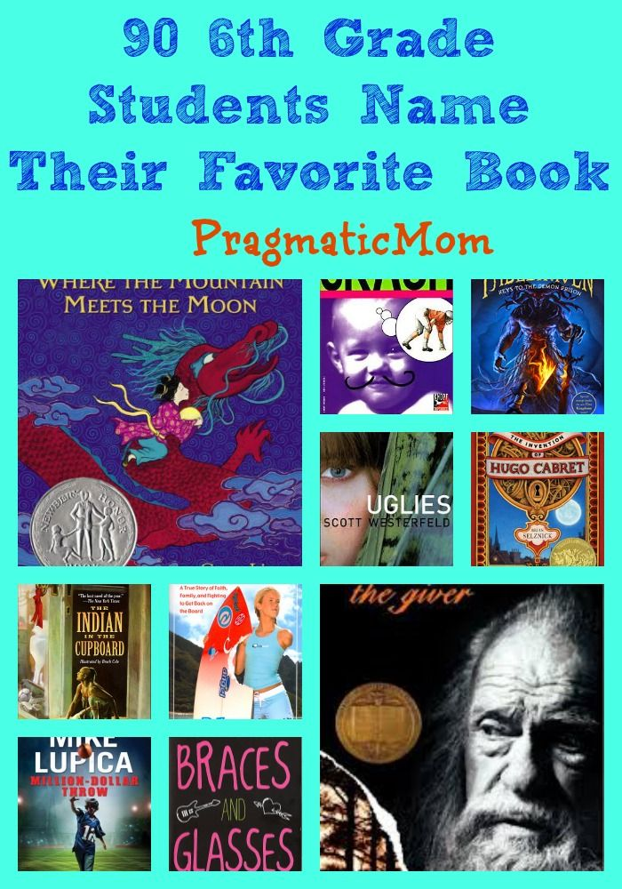 90 Sixth Grade Kids name their favorite book ever on their first day of Middle School :: PragmaticMom