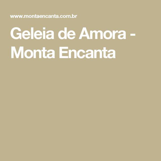 Geleia de Amora - Monta Encanta